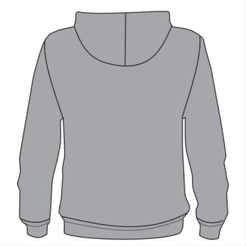 B&C Hooded Mens Full Zip Thumbnail